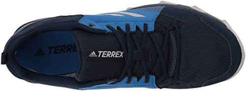 Adidas Outdoor Mannen Terrex Tracerocker Gtx Trail Hardloopschoen Col. Marine / Grijs Twee / Blauw Beauty