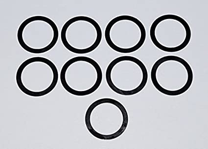 5/8 x 24 Barrel Shim Muzzle Brake Alignment Shim Kit  308 7 62 indexing  Black