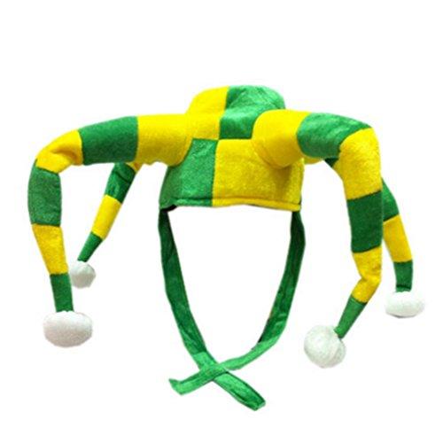 Hibye Football FIFA World Cup 2018 Clown Hat