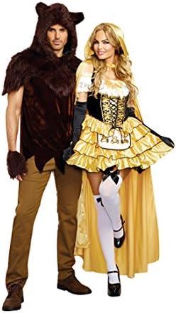DreamGirl – Disfraz de 9895 Ricitos de oro (tamaño grande): Amazon ...