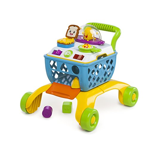 Bright Starts Giggling Gourmet Shop 'n Cook Walker (Best Push Toys For Walking)