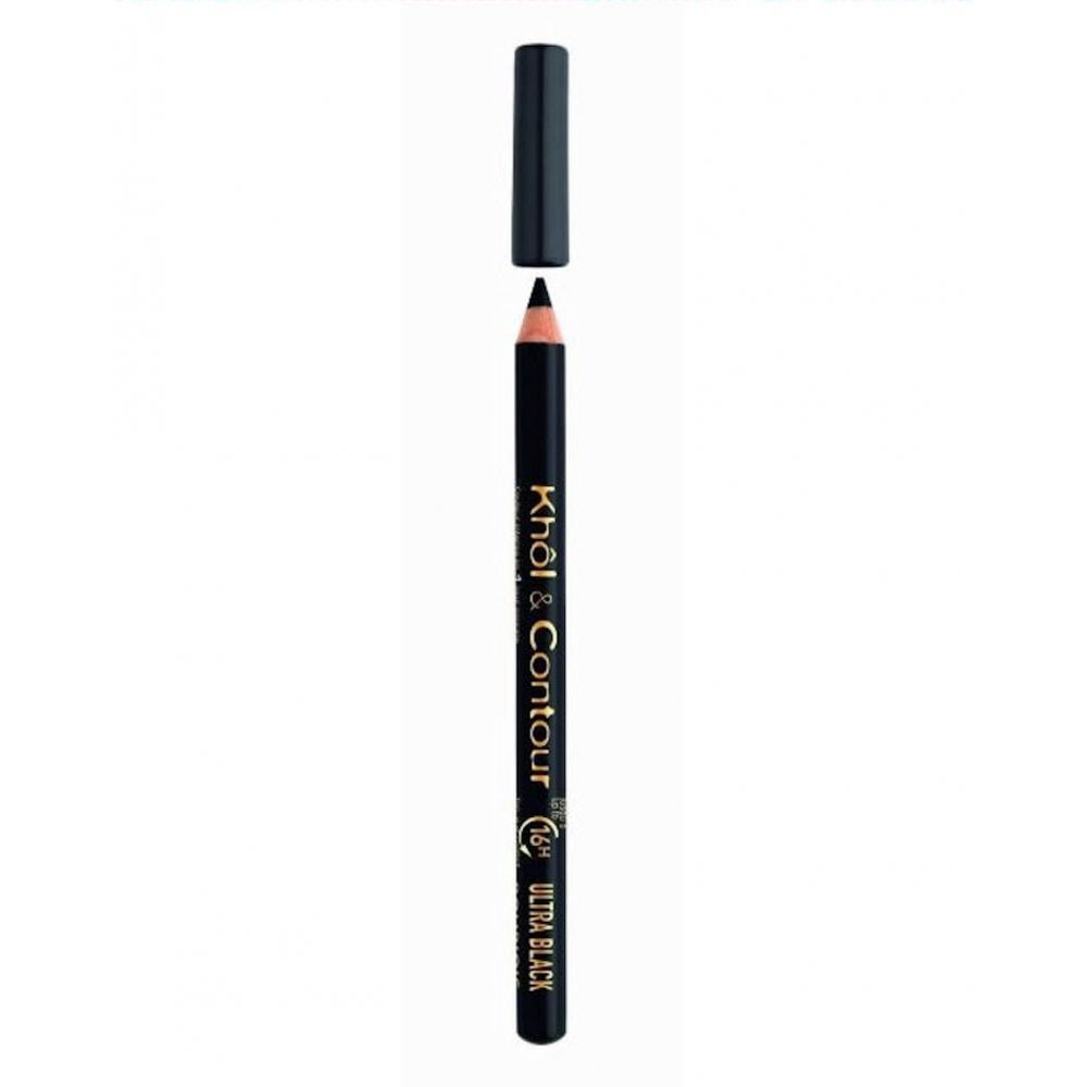 Bourjois Khol and Contour 16 H 71 Ultra Black Eye Pencil, 0.78 g 677125/16-3