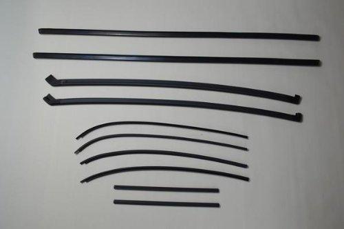 スズキ カプチーノ ルーフ の モールセット 10本 B00DSY2WHO