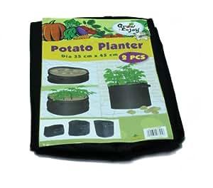Generic 15-Gallon Grow Bag Pots for Smart Growing Bags 2PCS