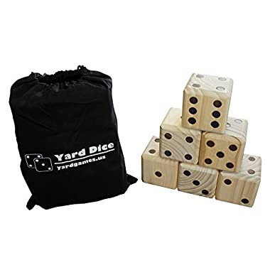 Giant Wooden Yard Dice by Yard Games