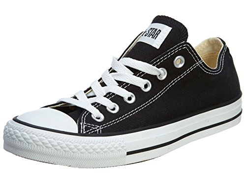 (Converse Chuck Taylor All Star Ox Low Top Black Sneakers - 8 D(M) US)