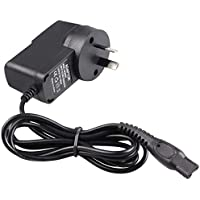 15V AU Plug Shaver Charger Power Cord Travel Wall Adapter compatible for Philips Norelco Arcitec Cool Skin Model Shaver,HQ8505 7000 5000 3000 Series,PT Series,Q Series Philips Shaver by 4G-Kitty.
