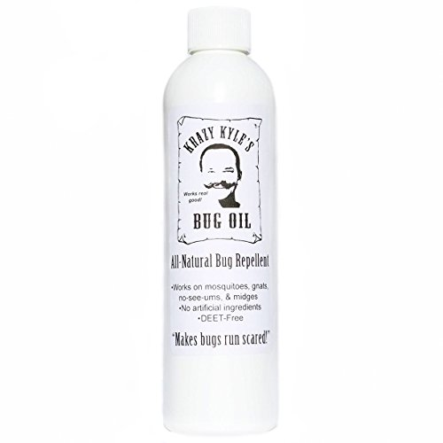 Pure Island Products Krazy Kyle's Bug Oil - Natural Insect Repellent (8 oz)