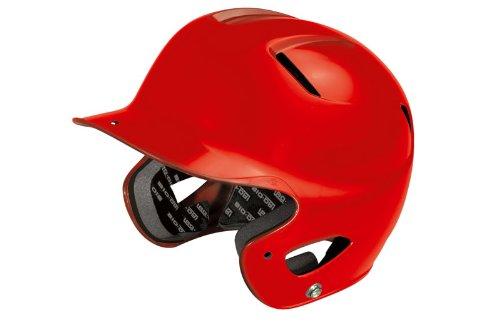Easton Natural Senior Batting Helmet , Red