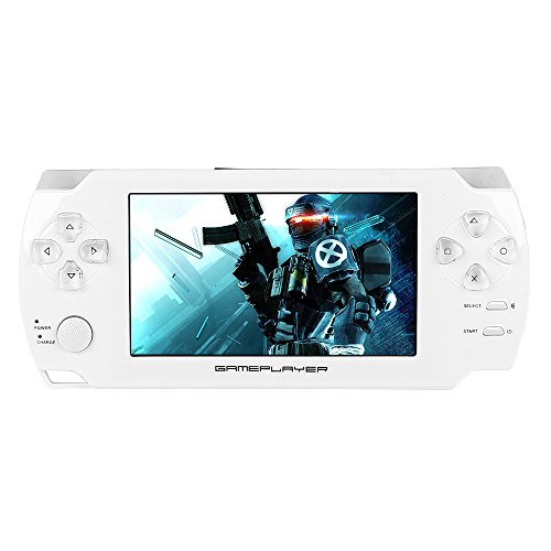 JouerNow PSP1 4.3'' 8GB Touch Screen MAME Handheld MP5 Vi...