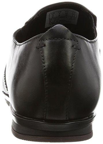 CLARKS Clarks Kinver Step Black Leather Black Leather