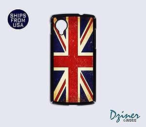 Nexus 5 Case - Vinatge UK Union Jack Flag iPhone Cover