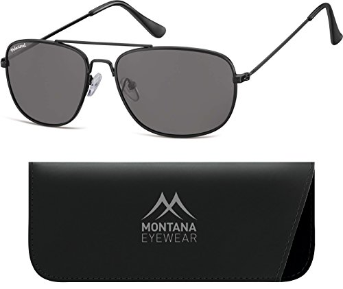 Gafas Unisex Black Smoke Matt Multicolor de Sol Lenses Montana Adulto qwndgHUgt