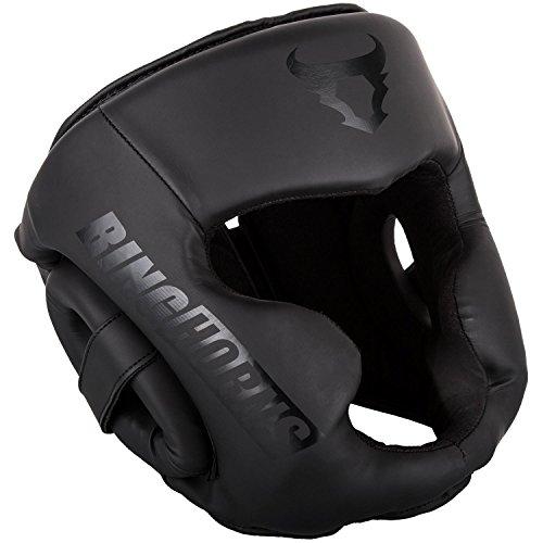 Ringhorns Charger Headgear - Black/Black