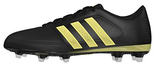 adidas Men's Gloro 16.1 Fg Football Boots, White Black (Core Black/Gold Met/Core Black)