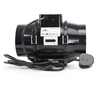 Black Orchid Mixed Flo Extractor Extraction Fan Hydroponics