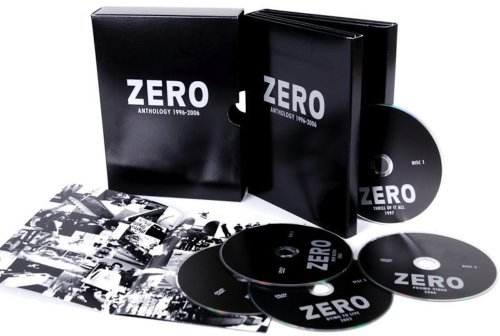Zero Anthology Dvd Box Set 5 Disc Skate Dvds by Zero Skateboards