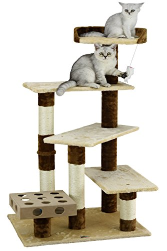 Go Pet Club IQ Busy Box Cat Tree, 26' x 21' x 45'
