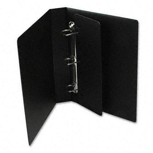 - Cardinal : Heavyweight Vinyl Slant-D 3-Ring Binder w/Label Holder, 2in Cap, Black -:- Sold as 2 Packs of - 1 - / - Total of 2 Each