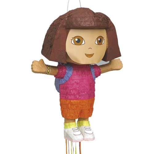 Dora the Explorer Pinata, Shaped Pull String (Costume Party Ideas For Adults)