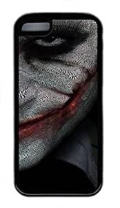 iPhone 5c case, Cute Joker Smile iPhone 5c Cover, iPhone 5c Cases, Soft Black iPhone 5c Covers
