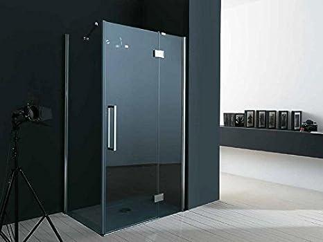 TAMANACO Box doccia in vetro 6 mm fisso porta a battente con ...