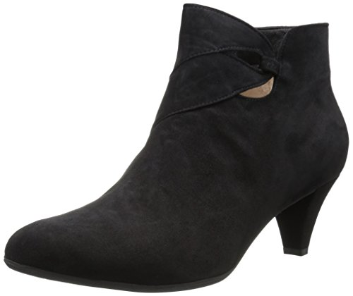 BeautiFeel WoMen Bette Ankle Boot Black Suede