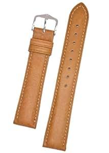 HIRSCH Classic 01009010-2-22 - Correa para reloj, piel, color marrón