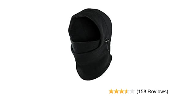 1f0fa8a1858 Amazon.com  Change Fashion 6 in 1 Neck Balaclava Winter Face Hat Fleece  Hood Ski Mask Warm Helmet  Sports   Outdoors