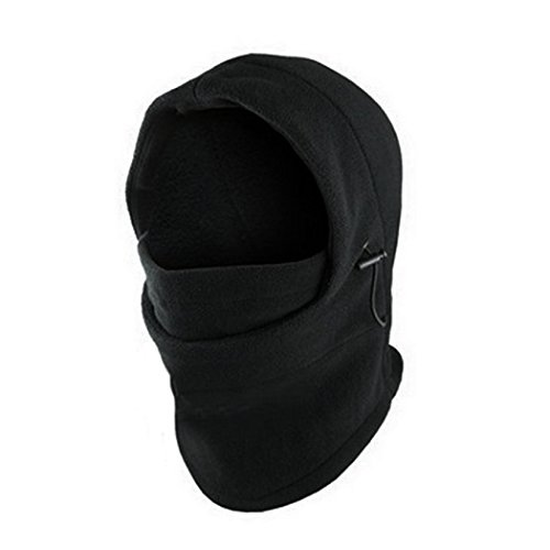 1 Thermal (6 in 1 Winter Thermal Fleece Warm Neck Balaclava Outdoor Sports Mask)