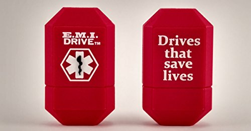 EMI Drive Emergency Medical Alert USB Flash Drive