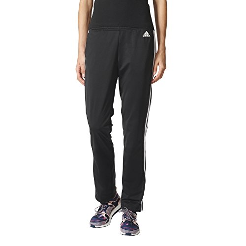 adidas Womens Designed 2 Move Straight Pants, Black/White, Small