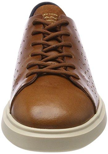 Gant Brian, Sneaker Uomo Marrone (Cognac)
