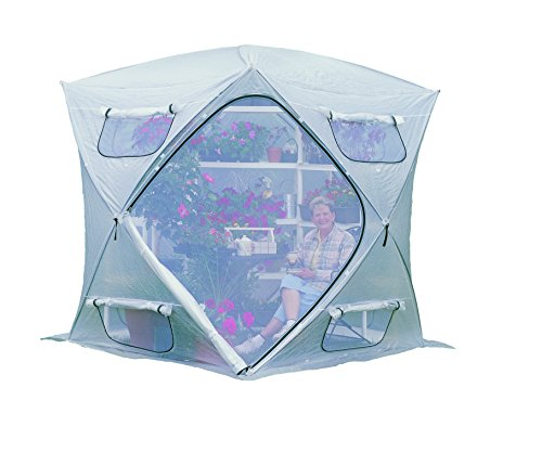 Flower House FHBH600 BloomHouse Hub Style Greenhouse (Flowerhouse Portable Greenhouse)