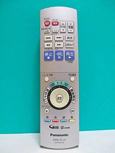 パナソニック DVDテレビリモコン EUR7655Y30 蓋無 B00MQRVQJE