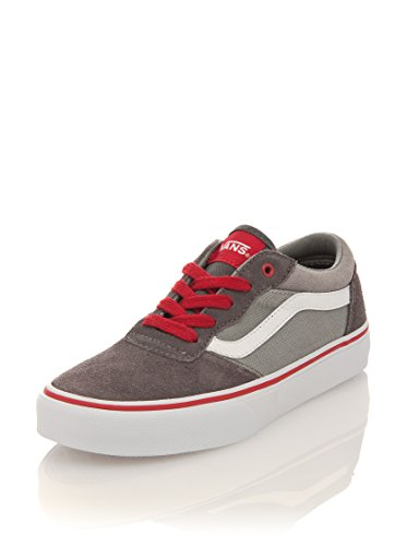 Vans Milton Suede, Unisex-Childs' Low-Top Trainers Grey (Grey)