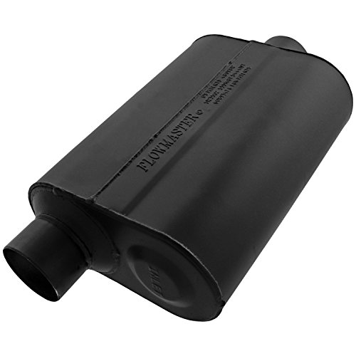 Flowmaster 952546 Super 40 Muffler - 2.50 Offset IN / 2.50 Center OUT - Aggressive Sound
