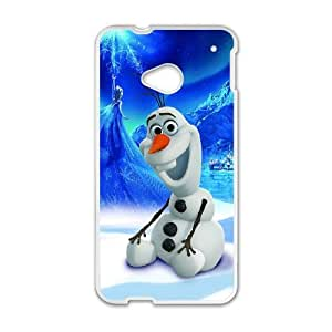 Olaf HTC One M7 Cell Phone Case White Delicate gift JIS_370202