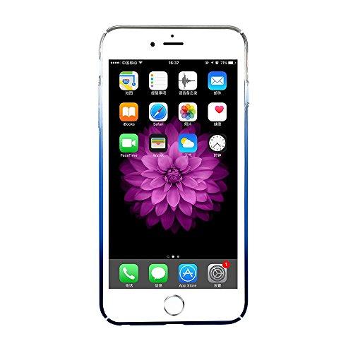 BASEUS Glaze Tasche Hüllen Schutzhülle - Case für iPhone 6s 6 Gradual Color Changing Plastic Tasche Hüllen Schutzhülle - cover - Blau