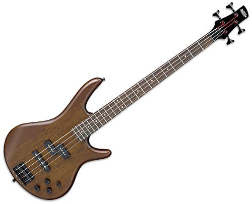 Ibanez GSR200B GSR Series 4-String Electric Bass Guitar - Walnut Flat (Rosewood Walnut)