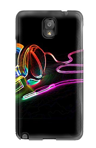Forever Collectibles Neon Headphones Hard Snap-on Galaxy Note 3 Case