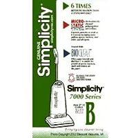 Simplicity Type B 7000- 12 pack