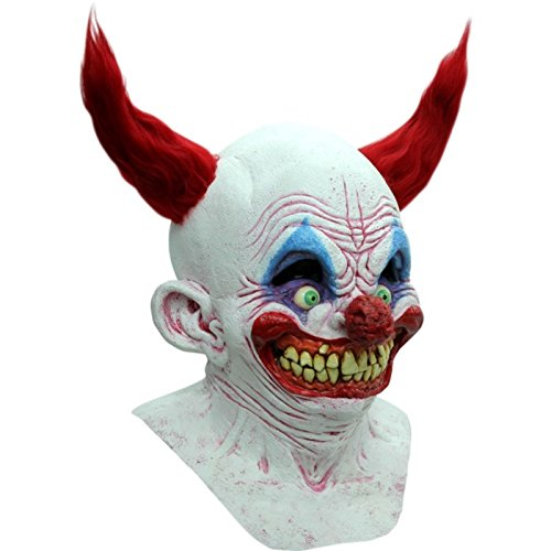 Chingo the Clown Latex Mask Evil Killer Klown Halloween Ghoulish Productions by Unknown