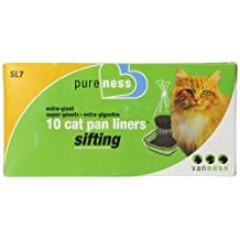Pureness Ebytra Giant Sifting Cat Pan Liners, 10 Count