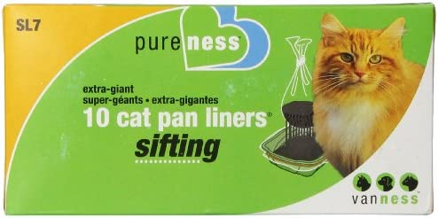 Van Ness Plastic Molding Sifting Cat Pan Liners Giant-10Pk SL7