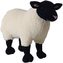 "ADORE 14"" Standing Marshmallow the Suffolk Sheep Plush Stuffed Animal Toy"