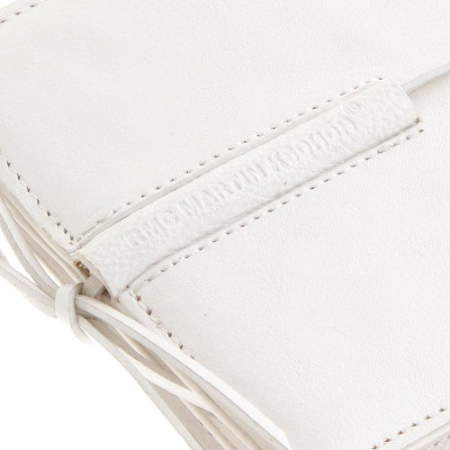 flap Wallet fold white wallet RMC REDM5724 card bill and Ksohoh with Italian leather MKWS credit Martin HT6qw1CF