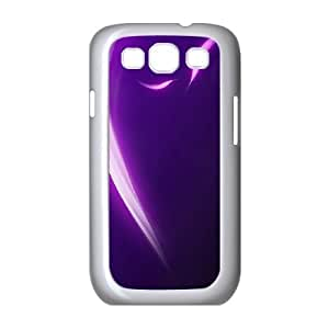 Samsung Galaxy S3 9300 Cell Phone Case White Colorful Stripes Wayqu