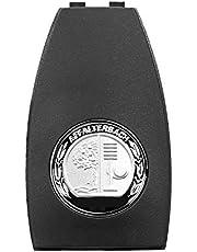 Hikig Metalen Appelboom Embleem Badge Sleutel Cover voor Mercedes-Benz A0008900023 AMG Sleutel Achterkant