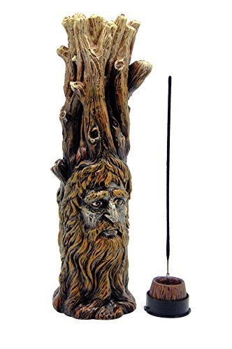 (Fantasy Gifts 11 Tree of Wisdom Sculpted Polyresin Incense Burner by Sabrina Underwood)